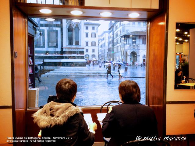 Piazza Duomo dal Bottegone